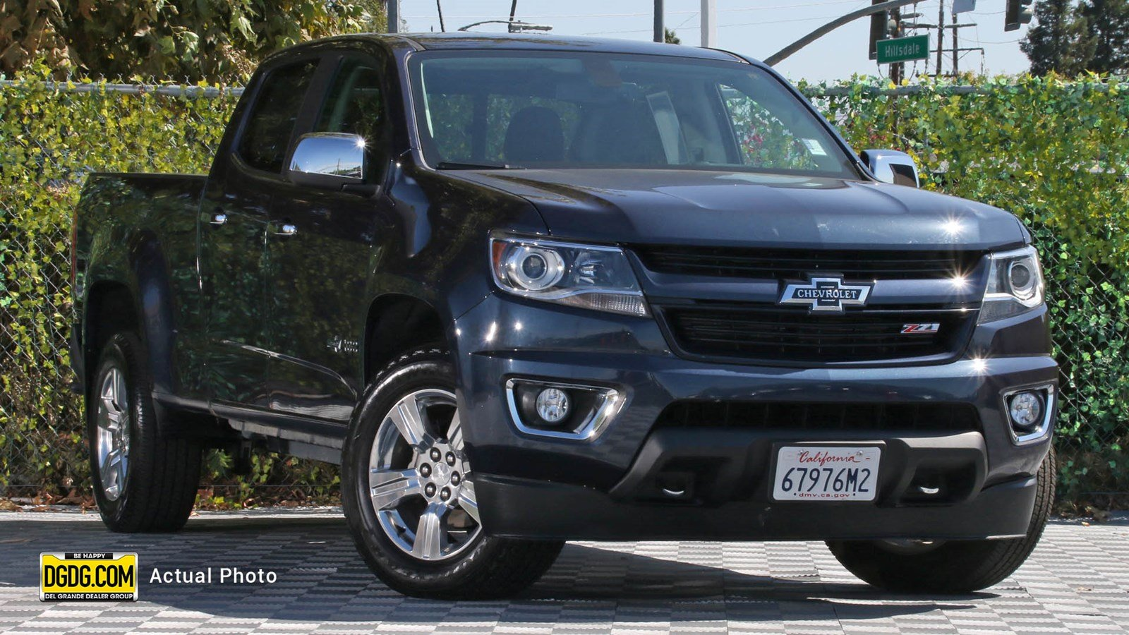 Chevy Colorado 2018 >> 2018 Chevrolet Colorado Z71 4wd