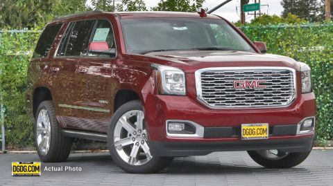 2019 GMC Yukon Denali With Navigation & 4WD
