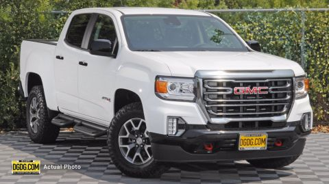 New 2021 GMC Canyon AT4 w/Leather